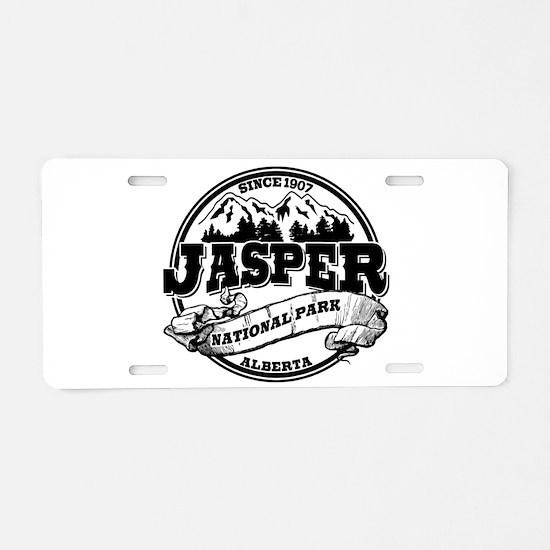 Jasper Old Circle Aluminum License Plate