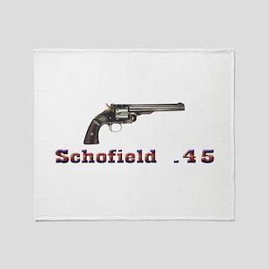 Schofield .45 Throw Blanket