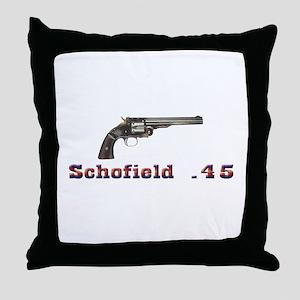 Schofield .45 Throw Pillow