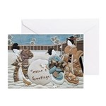 Little Maids Greeting Cards (Pk of 20)