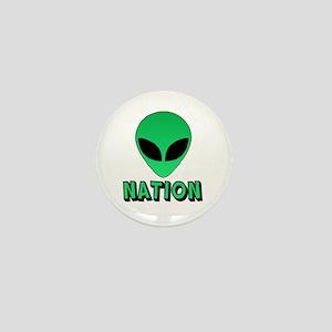 Alien Nation Mini Button