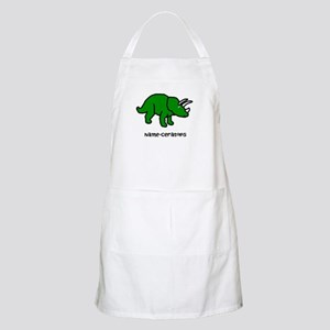 Name your own Triceratops! Apron