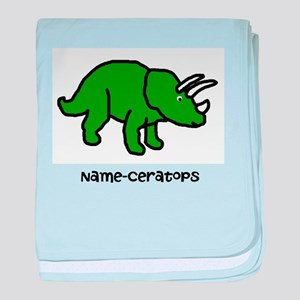 1b7e83ce75ee Name your own Triceratops! baby blanket