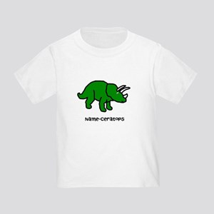 Name your own Triceratops! Toddler T-Shirt