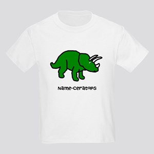 Name your own Triceratops! Kids Light T-Shirt