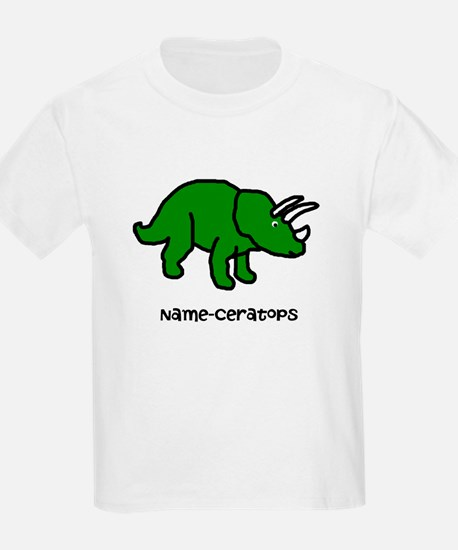 Name your own Triceratops! T-Shirt