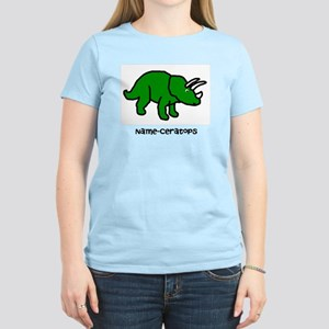 Name your own Triceratops! Women's Light T-Shirt