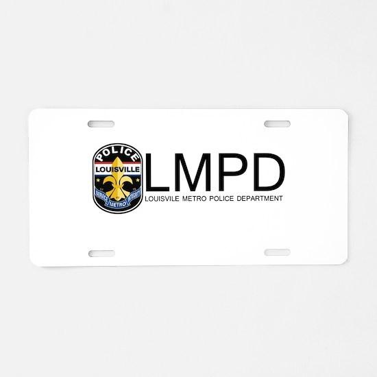 LMPD License Plate