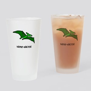 Name your own Pterodactyl! Drinking Glass