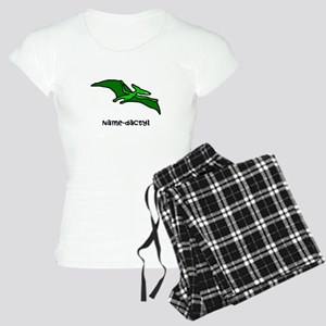 Name your own Pterodactyl! Women's Light Pajamas