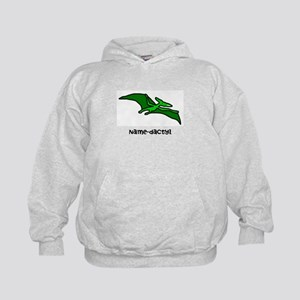 Name your own Pterodactyl! Kids Hoodie