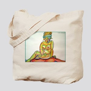 Bright, Abstract, Nude, Tote Bag