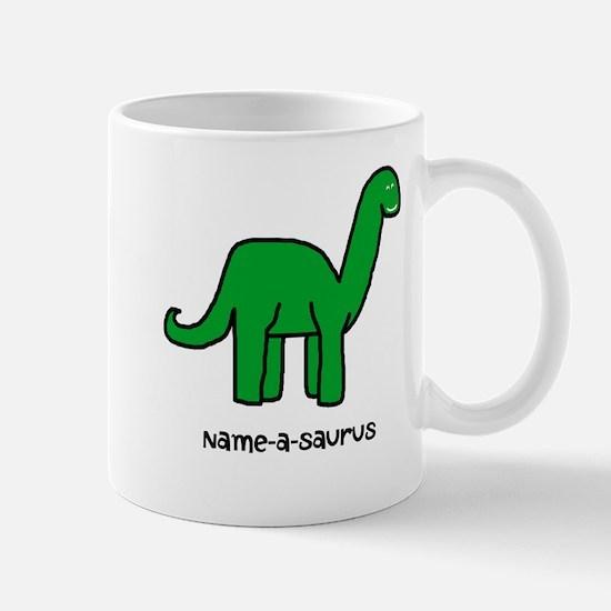 Name your own Brachiosaurus! Mug
