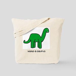 Name your own Brachiosaurus! Tote Bag