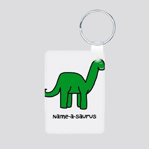 Name your own Brachiosaurus! Aluminum Photo Keycha