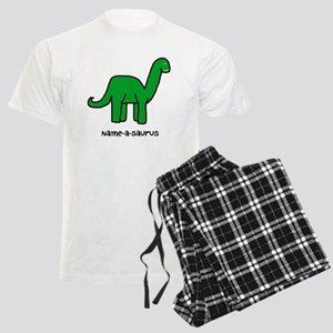 Name your own Brachiosaurus! Men's Light Pajamas