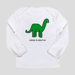 Name your own Brachiosaurus! Long Sleeve Infant T-