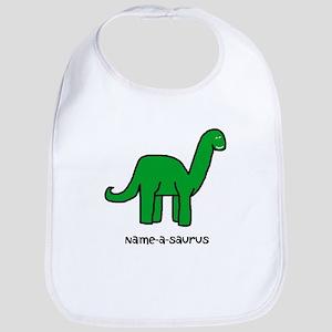 Name your own Brachiosaurus! Bib