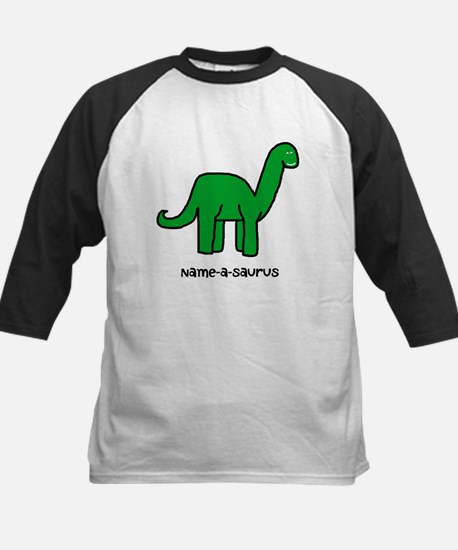 Name your own Brachiosaurus! Kids Baseball Jersey