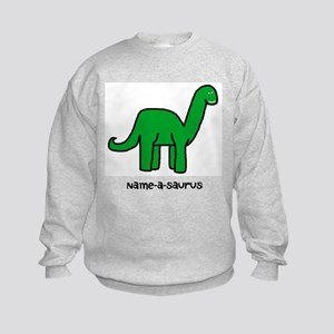 Name your own Brachiosaurus! Kids Sweatshirt