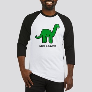Name your own Brachiosaurus! Baseball Jersey
