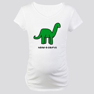 Name your own Brachiosaurus! Maternity T-Shirt