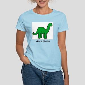 Name your own Brachiosaurus! Women's Light T-Shirt