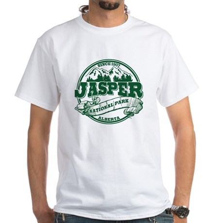Jasper Old Circle White T-Shirt