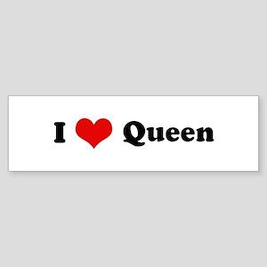My Heart: Queen Bumper Sticker
