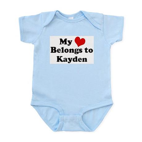 My Heart: Kayden Infant Creeper