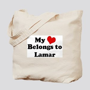 My Heart: Lamar Tote Bag