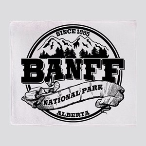 Banff NP Old Circle Throw Blanket