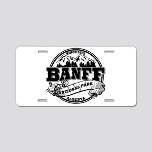 Banff NP Old Circle Aluminum License Plate