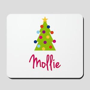 Christmas Tree Mollie Mousepad