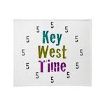 Key West Time Throw Blanket