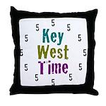 Key West Time Throw Pillow