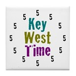 Key West Time Tile Coaster