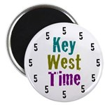 Key West Time Magnet