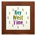 Key West Time Framed Tile
