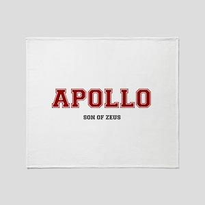 APOLLO - SON OF ZEUS! Throw Blanket