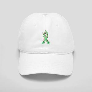 Christmas Lights Ribbon Celiac Disease Cap