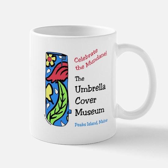 Umbrella Cover Museum Logo Mugs