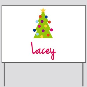 Christmas Tree Lacey Yard Sign