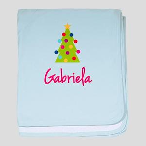 Christmas Tree Gabriela baby blanket