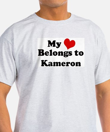 My Heart: Kameron Ash Grey T-Shirt