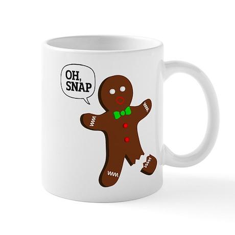oH Snap, Gingerbread Man Mug