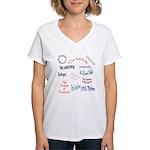 G&S canon Women's V-Neck T-Shirt