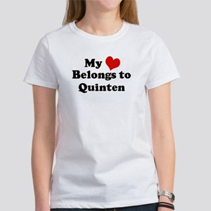 My Heart: Quinten Women's T-Shirt