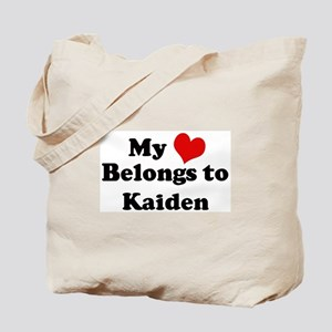 My Heart: Kaiden Tote Bag