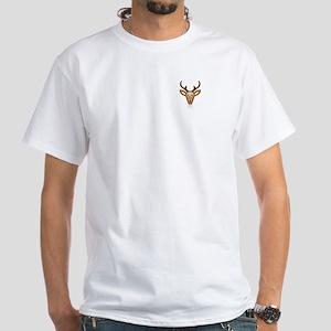 Reindeer White T-Shirt